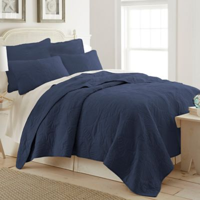 Buy Navy Blue Quilt from Bed Bath & Beyond : blue quilts bedding - Adamdwight.com