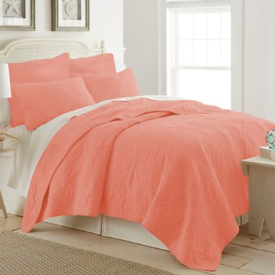 Buy Coral Colored Queen Bedding from Bed Bath & Beyond