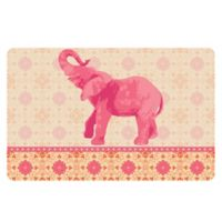 The Softer Side by Weather Guard™ 18-Inch x 27-Inch Elephant 3 Kitchen Mat