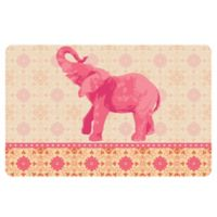 The Softer Side by Weather Guard™ 23-Inch x 36-Inch Elephant 3 Kitchen Mat