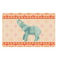 The Softer Side by Weather Guard™ 18-Inch x 27-Inch Elephant 4 Kitchen Mat