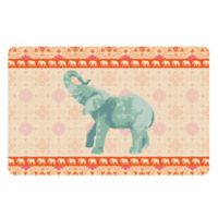 The Softer Side by Weather Guard™ 23-Inch x 36-Inch Elephant 4 Kitchen Mat