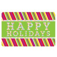 The Softer Side by Weather Guard™ 18-Inch x 27-Inch Merry and Bright 3 Kitchen Mat
