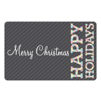 The Softer Side by Weather Guard™ 18-Inch x 27-Inch Merry & Bright 4 Kitchen Mat