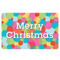 The Softer Side by Weather Guard™ 18-Inch x 27-Inch Merry & Bright 5 Kitchen Mat
