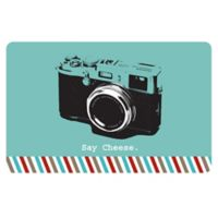 The Softer Side by Weather Guard™ 18-Inch x 27-Inch Retro Camera Kitchen Mat