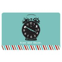 The Softer Side by Weather Guard™ 18-Inch x 27-Inch Retro Clock Kitchen Mat