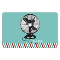 The Softer Side by Weather Guard™ 23-Inch x 36-Inch Retro Fan Kitchen Mat