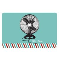 The Softer Side by Weather Guard™ 18-Inch x 27-Inch Retro Fan Kitchen Mat