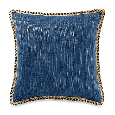 20 Inch Square Decorative Pillows : Buy Maui Ivory 20-Inch Square Throw Pillow in Red from Bed Bath & Beyond