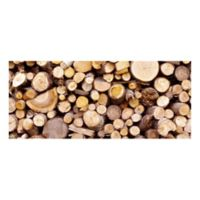 The Softer Side by Weather Guard™ 25-Inch x 60-Inch Stacked Logs Kitchen Mat