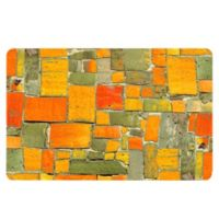 The Softer Side by Weather Guard™ 18-Inch x 27-Inch Stone Mosaic Kitchen Mat