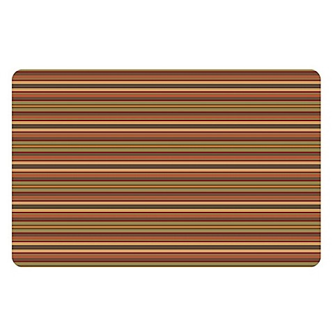orange kitchen floor mats the softer side by weather guard tanson stripe kitchen 3763