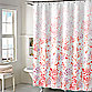 Kimberly Floral Shower Curtain in Coral