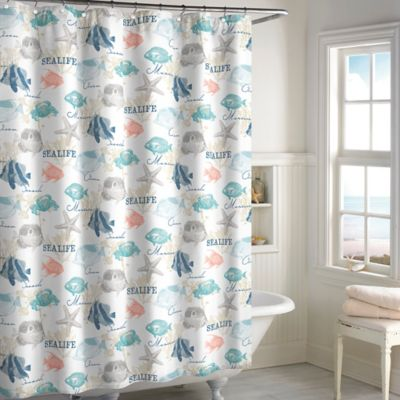 Seaside Bay Shower Curtain