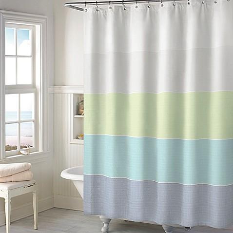Austin Shower Curtain In Aqua