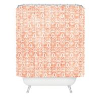 DENY Designs Holli Zollinger Widden Shower Curtain in Orange