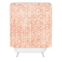 DENY Designs Holli Zollinger Widden Shower Curtain In Orange