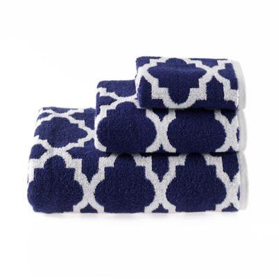 buy navy blue bath towels from bed bath beyond. Black Bedroom Furniture Sets. Home Design Ideas