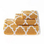 Riviera Jacquard Hand Towel in Yellow