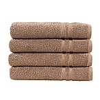 Linum Home Textiles Denzi Hand Towels in Latte (Set of 4)