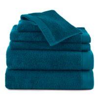 Izod® Classic Egyptian Cotton 6-Piece Towel Set in Dark Teal