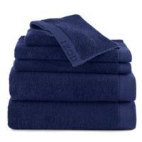 Izod® Classic Egyptian Cotton 6-Piece Towel Set in Dark Blue
