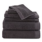 IZOD® Classic Cotton 6-Piece Towel Set in Dark Grey