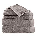 IZOD® Classic Cotton 6-Piece Towel Set in Light Grey