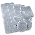 Wamsutta® Duet Contour Bath Rug in Chrome