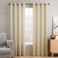 Sketch 108-Inch Grommet Top Window Curtain Panel in Ivory