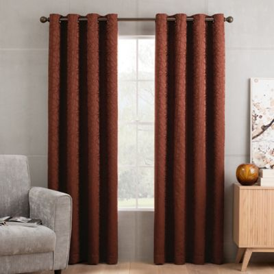 Buy Rust Curtains From Bed Bath Beyond