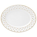 kate spade new york Larabee Road™ Gold 13-Inch Oval Platter