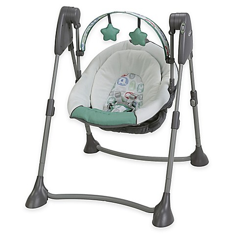 Graco 174 Swing By Me Portable Swing In Cleo Buybuy Baby