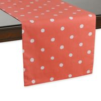 kate spade new york Charlotte Street 90-Inch Table Runner in Coral