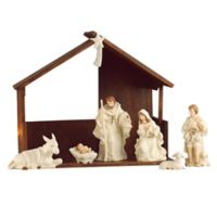 Belleek Holiday Collection 9-Piece Christmas Nativity Set