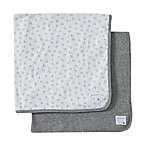 Burt's Bees Baby® 2-Pack Organic Cotton Blankets in Heather Grey