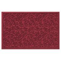 Weather Guard™ Fall Day 31-Inch x 21-Inch Indoor/Outdoor Door Mat in Red/Black