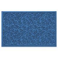 Weather Guard™ Fall Day 31-Inch x 21-Inch Indoor/Outdoor Door Mat in Medium Blue