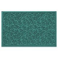 Weather Guard™ Fall Day 31-Inch x 21-Inch Indoor/Outdoor Door Mat in Aquamarine