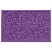 Weather Guard™ Fall Day 31-Inch x 21-Inch Indoor/Outdoor Door Mat in Purple