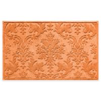 Weather Guard™ Damask 34-Inch x 52-Inch Door Mat in Orange