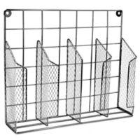 Home Basics® Wire Food Wrap Organizer in Onyx
