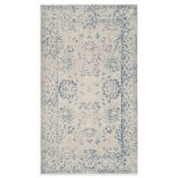 Safavieh Patina Mercade 3-Foot x 5-Foot Area Rug in Grey/Blue