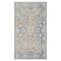 Safavieh Patina Mercade 4-Foot x 6-Foot Area Rug in Taupe/Blue