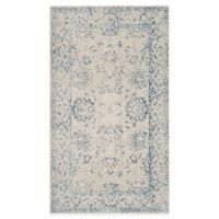 Safavieh Patina Mercade 4-Foot x 6-Foot Area Rug in Grey/Blue