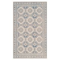 Safavieh Patina Tiles 3-Foot x 5-Foot Area Rug in Blue/Ivory