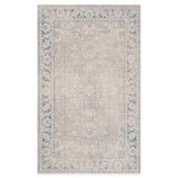 Safavieh Patina Solanio 4-Foot x 6-Foot Area Rug in Taupe/Blue