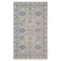 Safavieh Patina Ceres 3-Foot x 5-Foot Area Rug in Blue/Ivory