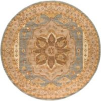 Artistic Weavers Middleton Mia 6-Foot Round Area Rug in Brown